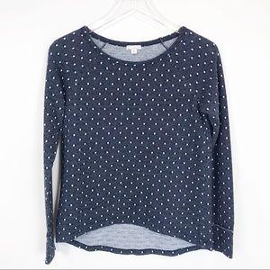 GAP preppy classic polka dot lightweight pullover